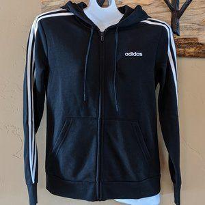 Adidas NWT size M fleece full zip hoodie